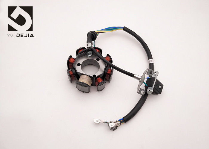 Performance Motorcycle Magneto Stator Pure Copper Material For Motorcycle Electrical System